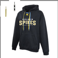 Golden Spikes Lace Up Hoodie