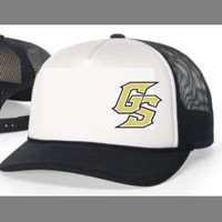 Golden Spikes Foam Trucker Cap