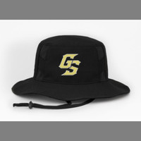 Golden Spikes Bucket Cap