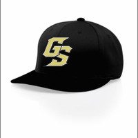 Golden Spikes All Black Cap